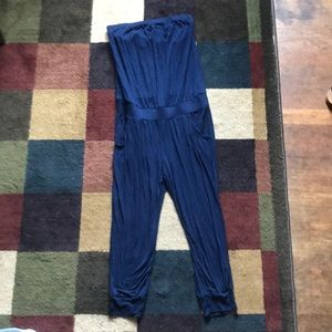 Tube top pant suit
